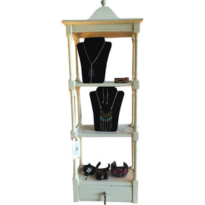 White Pagoda Shelf - Chestnut Lane Antiques & Interiors - 1