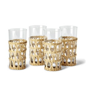 Two's Company Lattice Highball Glass