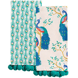 Peacock Tea Towels