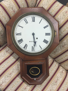 Seth Thomas Hanging Clock - Chestnut Lane Antiques & Interiors - 2