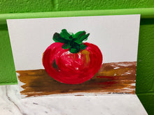 "Load image into Gallery viewer, Clara Gutierrez Acrylic on Paper - ""Tomato"""