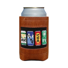 Load image into Gallery viewer, Smathers & Branson Needlepoint Can Cooler - Beer Cans