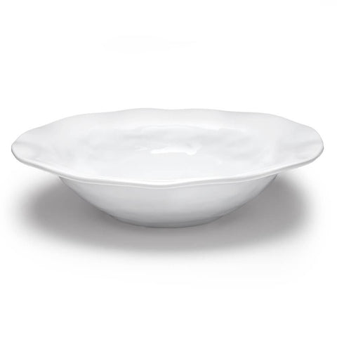 Ruffle Melamine Serving Bowl