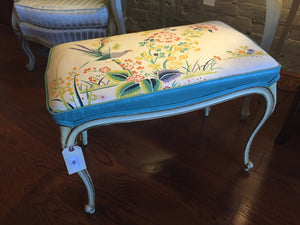 Vintage French Provincial Bench - Chestnut Lane Antiques & Interiors - 2