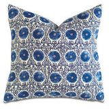 Sula Cerulean Knife Edge Pillow - Chestnut Lane Antiques & Interiors - 2
