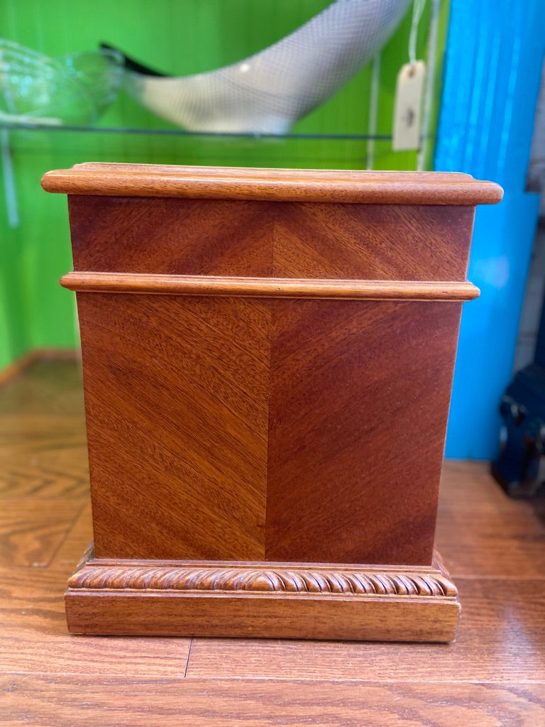 Large Mahogany Planter