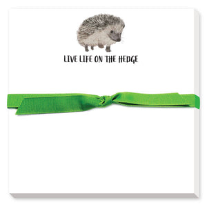Hedgehog Notepad