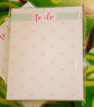 "Load image into Gallery viewer, Flamingo ""To do"" Mini Notepad - Chestnut Lane Antiques & Interiors - 2"