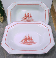 Load image into Gallery viewer, Wedgwood Flying Cloud Vegetable Platter Set of 2 - Chestnut Lane Antiques & Interiors - 2