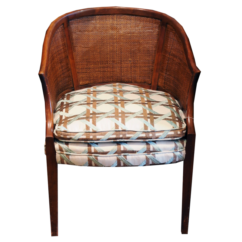 Barrel Back Chair - Chestnut Lane Antiques & Interiors - 1