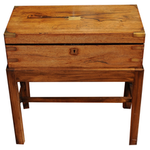 Load image into Gallery viewer, 19th Century Lap Desk on a Stand - Chestnut Lane Antiques & Interiors - 1