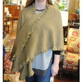 Alpaca Wrap - Camel - Chestnut Lane Antiques & Interiors - 2