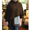 Alpaca Wrap - Chocolate - Chestnut Lane Antiques & Interiors - 2