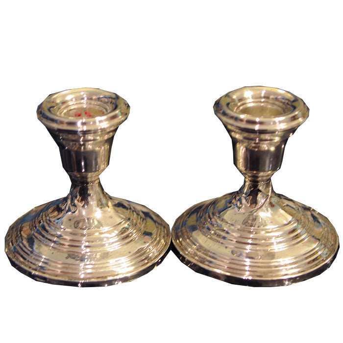 Sterling Candlesticks - Chestnut Lane Antiques & Interiors - 1