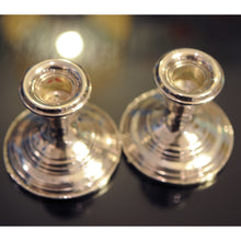 Load image into Gallery viewer, Sterling Candlesticks - Chestnut Lane Antiques & Interiors - 2