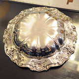 Silver Plated Towle Shallow Bowl