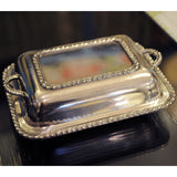 Silverplate Small Covered Vegetable - Chestnut Lane Antiques & Interiors - 4