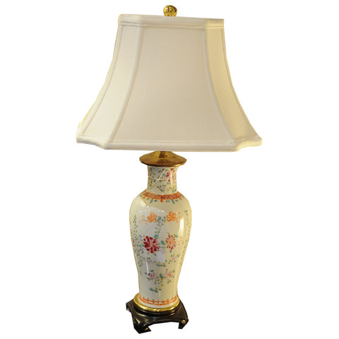 Asian Style Lamp - Chestnut Lane Antiques & Interiors - 1