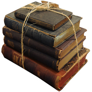 Bundle of Antique Books - Chestnut Lane Antiques & Interiors - 1