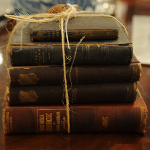 Bundle of Antique Books - Chestnut Lane Antiques & Interiors - 2