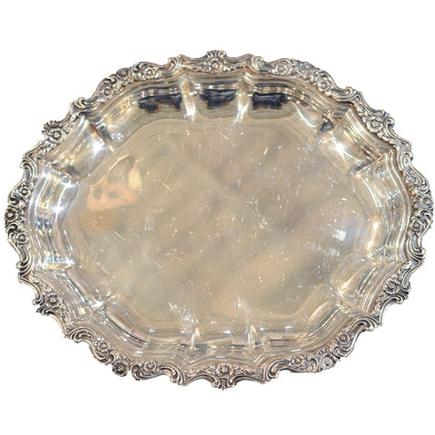 Silver Plate Small Tray - Chestnut Lane Antiques & Interiors - 1