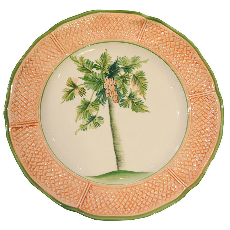 Vietri Palm Tree - Dinner Plate  sc 1 st  Chestnut Lane Antiques u0026 Interiors & Vietri Palm Tree - Dinner Plate | Chestnut Lane Antiques u0026 Interiors