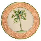Vietri Palm Tree - Dinner Plate