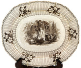 Antique Elijah Jones Staffordshire Vegetable Bowl - Chestnut Lane Antiques & Interiors - 2