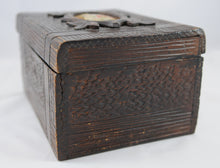 Load image into Gallery viewer, Antique Rustic Tea Caddy English 1850-1890 - Chestnut Lane Antiques & Interiors - 3
