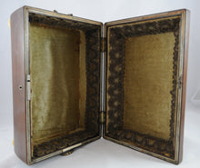 Load image into Gallery viewer, Antique Regency Style Sewing Box with Ivory Bun Feet - Chestnut Lane Antiques & Interiors - 2