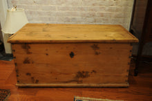 Load image into Gallery viewer, 18th Century Antique Pine Chest