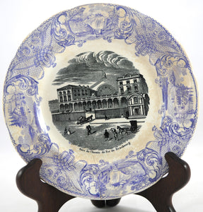 Antique 1840's French Transferware - Chestnut Lane Antiques & Interiors - 2