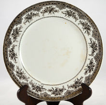 Load image into Gallery viewer, Brown French Transferware Plate - Chestnut Lane Antiques & Interiors - 2