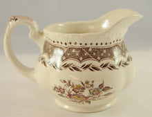 Load image into Gallery viewer, Antique Brown Transferware Pitcher Jug Circa 1890 - Chestnut Lane Antiques & Interiors - 2