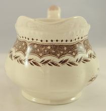 Load image into Gallery viewer, Antique Brown Transferware Pitcher Jug Circa 1890 - Chestnut Lane Antiques & Interiors - 4