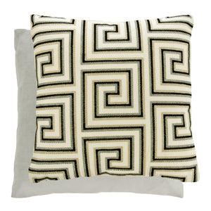 Stout Ducal Pillow with Velvet Back