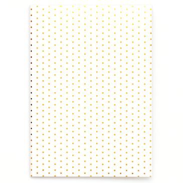 Gold Dot Mini Notebook - Chestnut Lane Antiques & Interiors