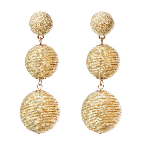 Wellington Earrings - Gold