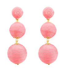 Load image into Gallery viewer, Wellington Earrings - Rose