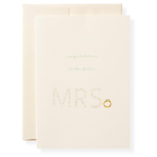 MRS Greeting Card