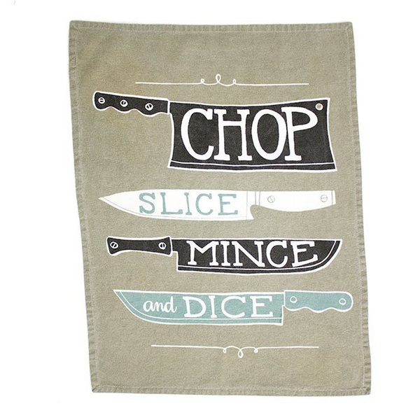 Knives Tea Towel - Chestnut Lane Antiques & Interiors