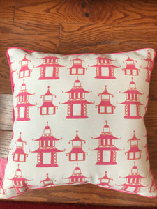 Pogoda Pink Pillows