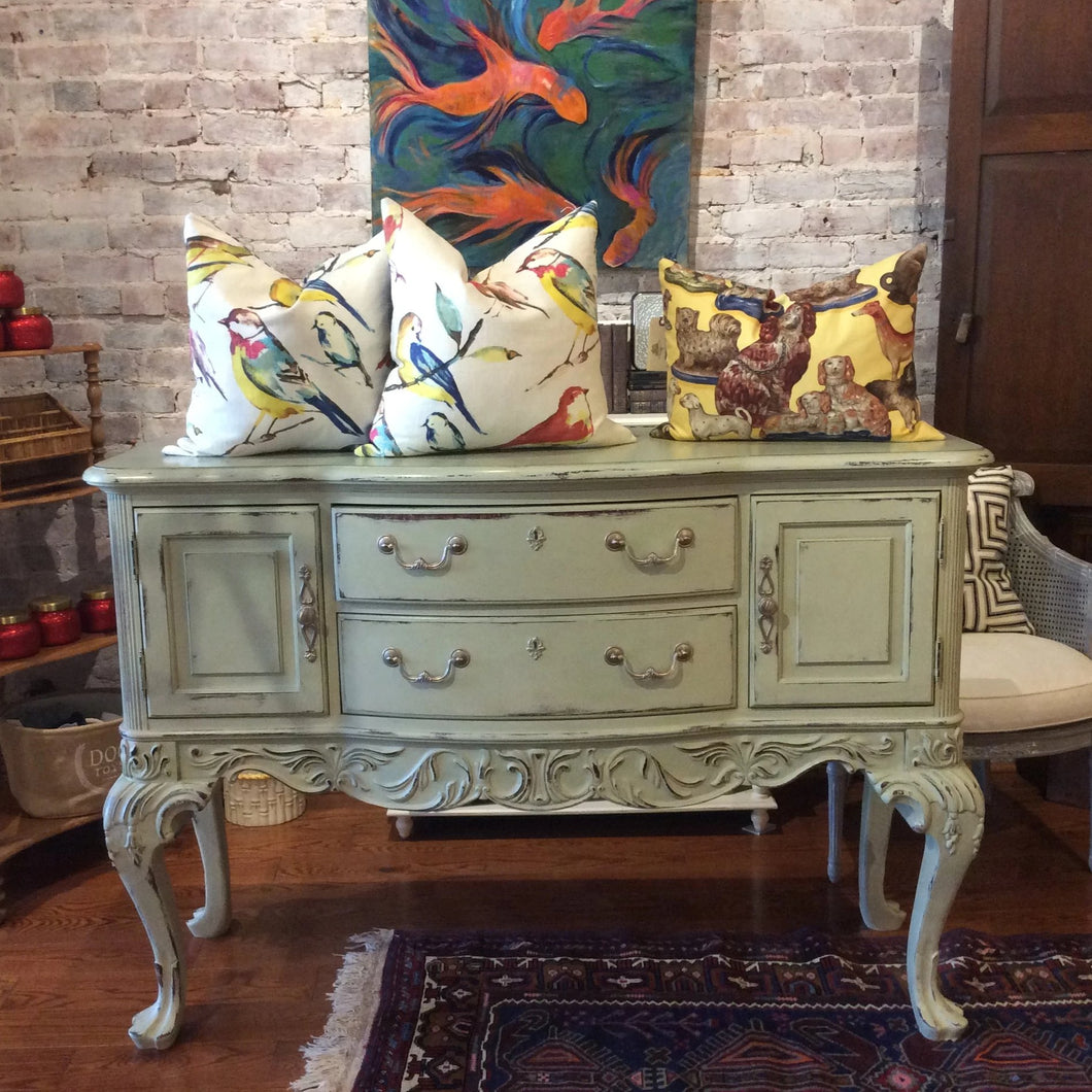 Thomasville Chalk Painted Sideboard