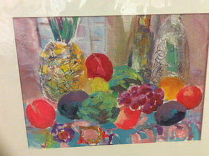 "Matted Print by Jane Carter - ""Veggie Delight"""