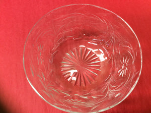 Victorian Glass Bowl