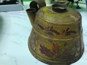 Antique Toleware Lantern