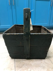 Rare Primitive Painted Bucket