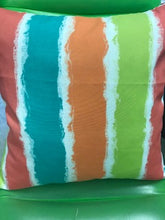 Load image into Gallery viewer, Custom Made Reversible Rainbow Sherbet Pillow