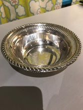 Load image into Gallery viewer, Antique Sterling Silver Nut Dish