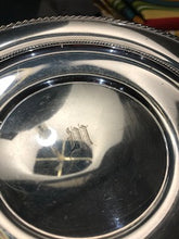 Load image into Gallery viewer, Vintage Gorham Sterling Slver Monogramed Shallow Bowl